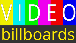 Video Billboard Icon