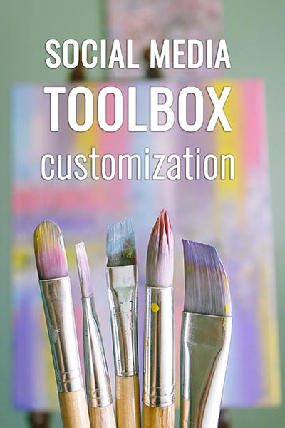Social Media Toolbox Customization for all FIs