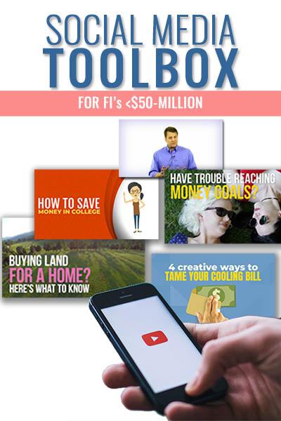 Social Media Toolbox for FI's <$50 Million Asset Size